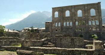 aosta il teatro romano