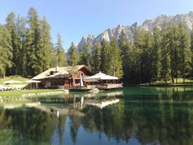 cortina d'ampezzo lago