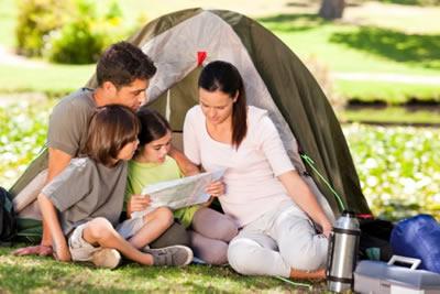 camping con bambini