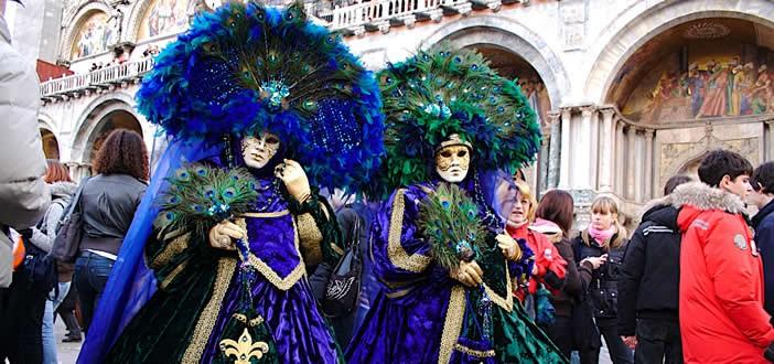 mascere in p.zza San Marco Venezia