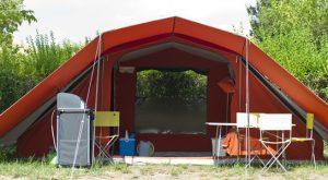 kit per il campeggio indispensabile