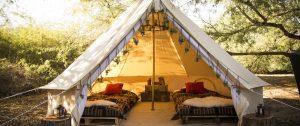 vacanze in tenda di lusso