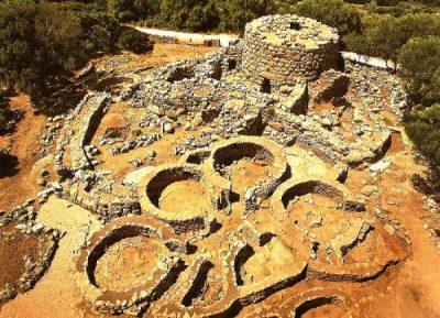 Nuraghe la Prisgiona sito archeol Sardegna